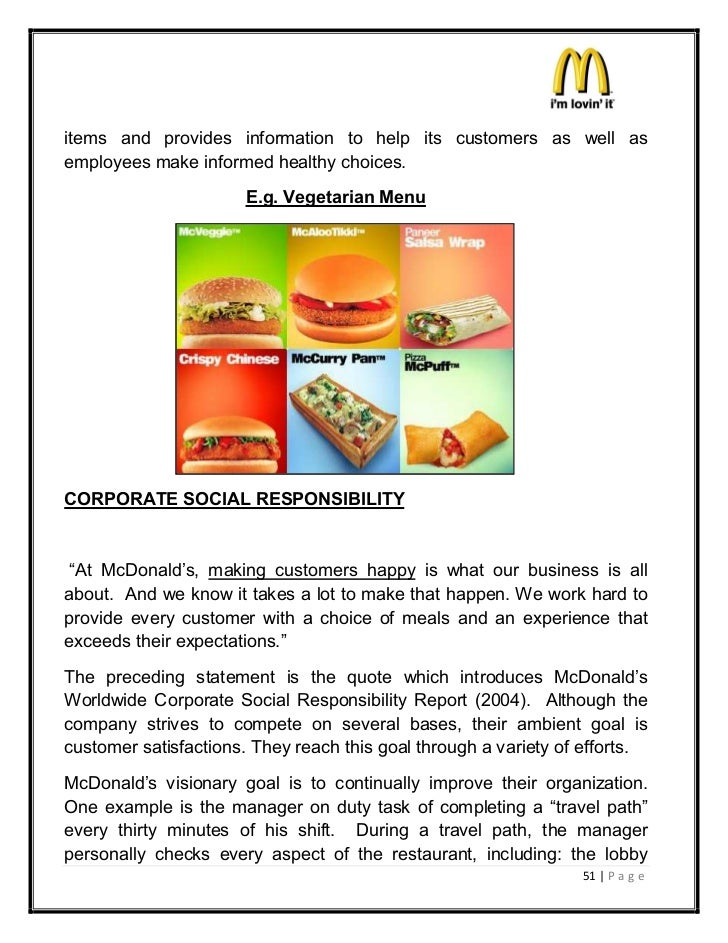 mcdonalds marketing mix The presentation helps describe the four elements of the marketing mix: product, price, place, and promotion the interactive tool allows students to critica.