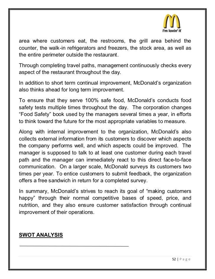 mcdonalds strategic business unit
