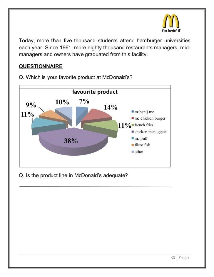 Today, more than five thousand students attend hamburger universitieseach year. Since 1961, more eighty thousand restauran...