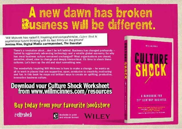 Culture Shock: A Handbook for 21st Century Business  Slide 2
