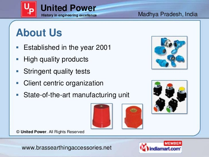 United Power            History in engineering excellence   Madhya Pradesh, IndiaAbout Us Established in the year 2001 H...