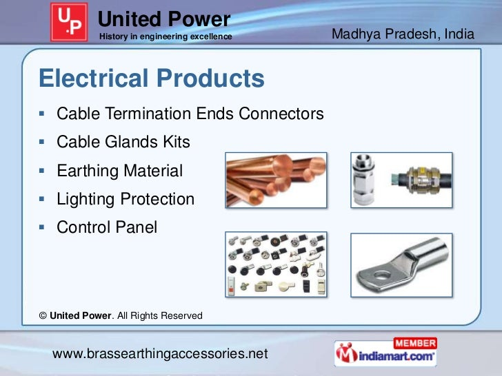 United Power            History in engineering excellence   Madhya Pradesh, IndiaElectrical Products Cable Termination En...