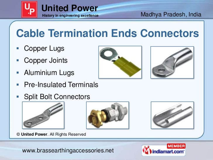 United Power            History in engineering excellence   Madhya Pradesh, IndiaCable Termination Ends Connectors Copper...