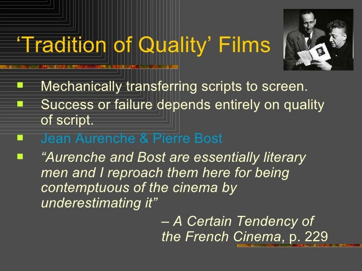 essay french new wave cinema Marked by rebellion and youthful idealism, the french new wave movement of the 1950s and 60s is arguably one of the most influential and radical times in cinema history.