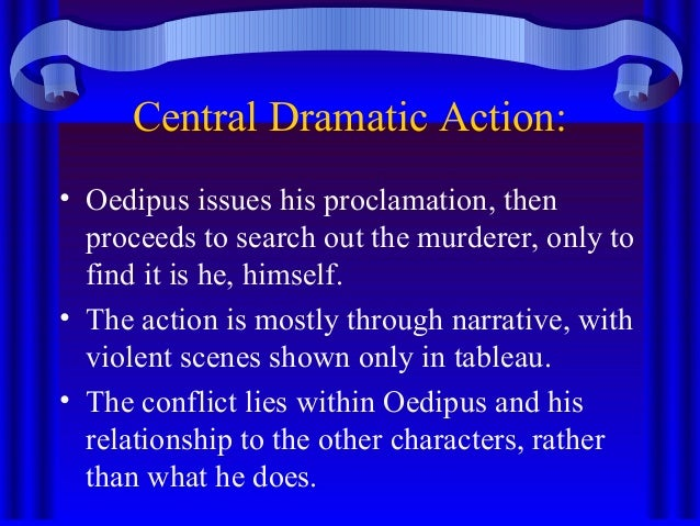 oedipus blinded by the prophets proclamation In sophocles' king oedipus, teiresias, the blind prophet, presents the truth to king oedipus and jocasta oedipus has been blinded to the truth his whole life when he does find the truth.