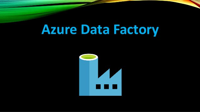 AZURE DATA FACTORY Azure Data Factory - cloud-based data integration service that orchestrates and automates the movement ...