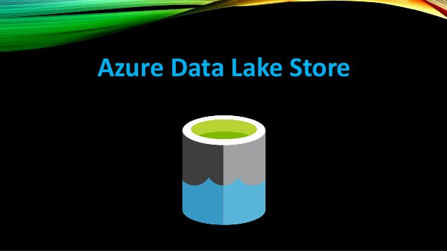 AZURE DATA LAKE STORE Azure Data Lake Store is designed to be an enterprise-wide, hyper scale repository for big data anal...