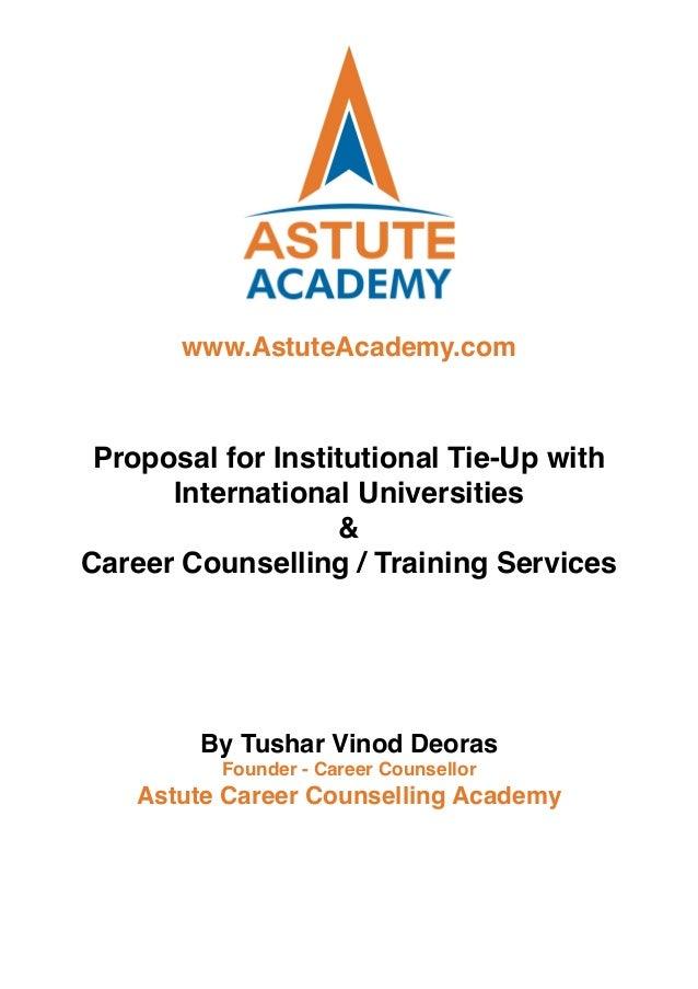 astute academy proposal tie up