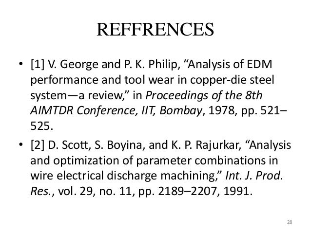 Micro wire edm thesis