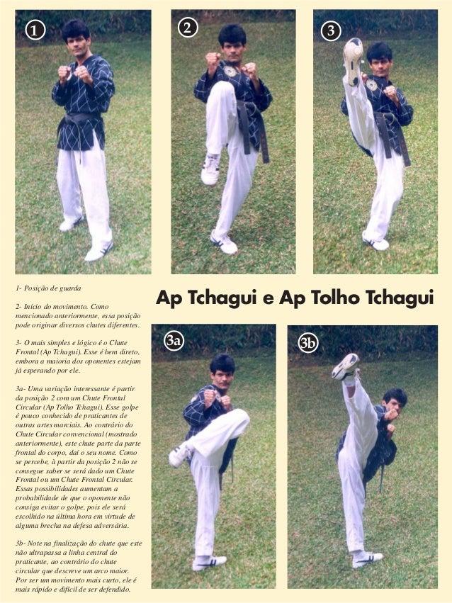 Ap Tchagui e Ap Tolho Tchagui  7  1 2 3  1- Posição de guarda  2- Início do movimento. Como  mencionado anteriormente, ess...