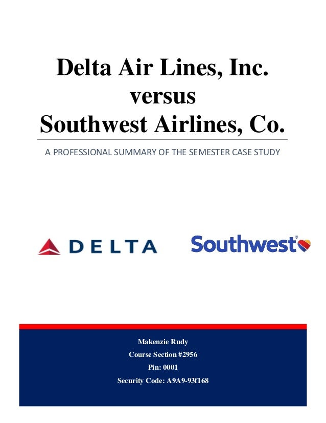 Cometetive advantage delta airlines essay