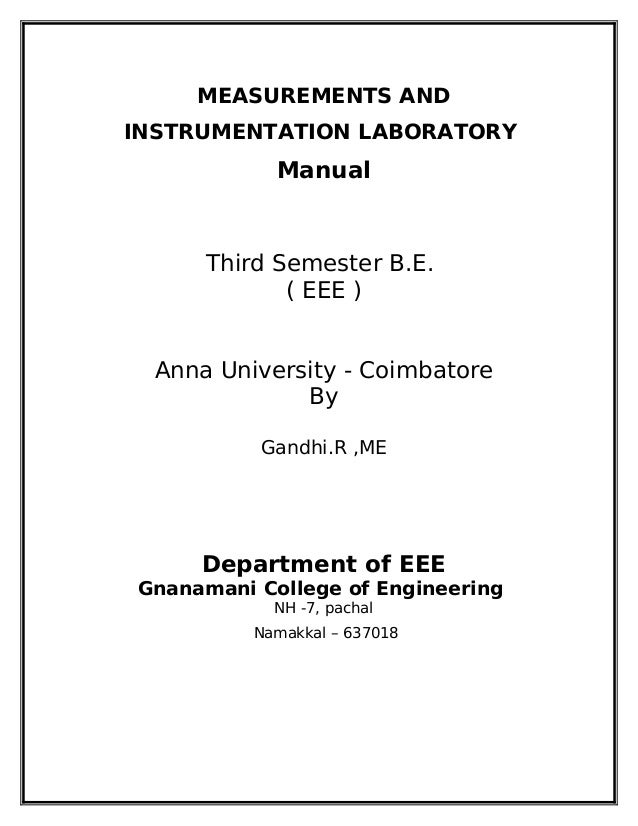 47512039 m i lab manual rh slideshare net Parallel and Series Circuits Battery Circuit