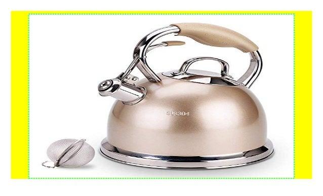 Suteas Best Whistling Tea Wasserkocher Teekessel Herdplatte Edelstah
