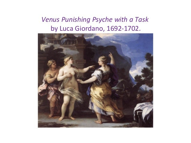 Venus Punishing Psyche with a Task by Luca Giordano, 1692-1702.