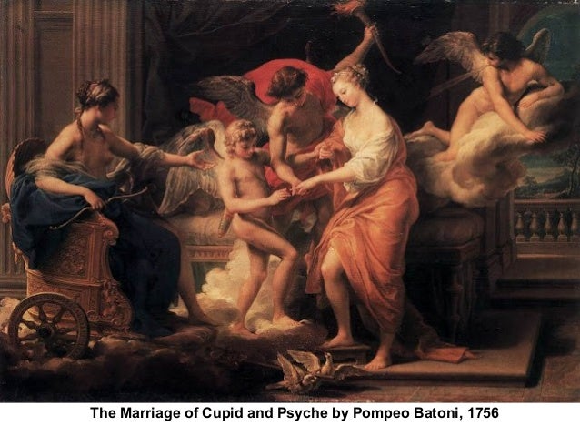 The Marriage of Cupid and Psyche by Pompeo Batoni, 1756