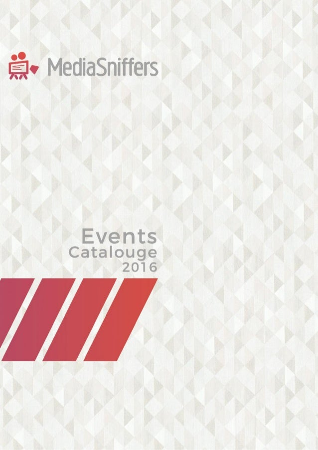 Event Catalogue 2016