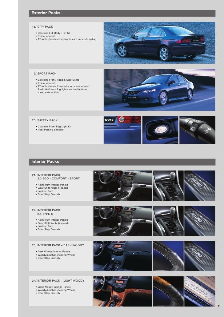 Honda Car Brochure
