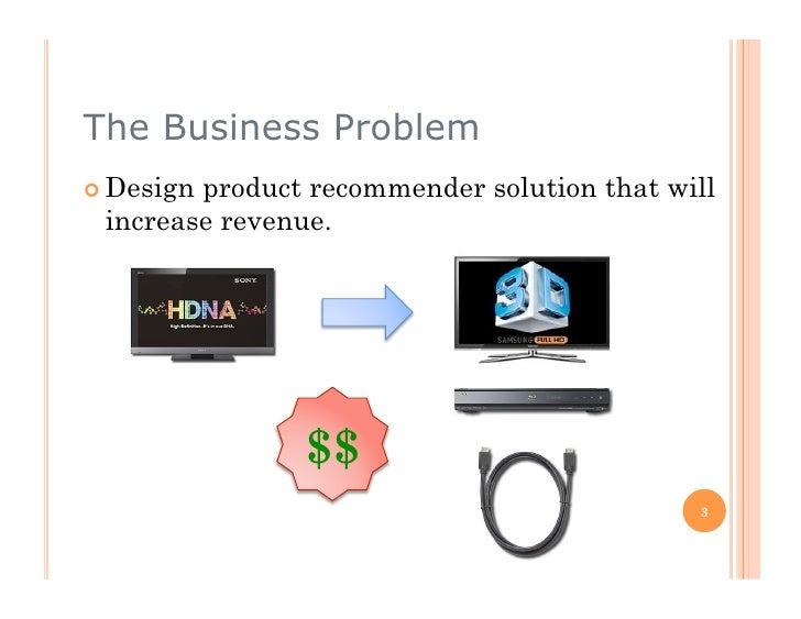 Building a Recommendation Engine - An example of a product recommendation engine Slide 3