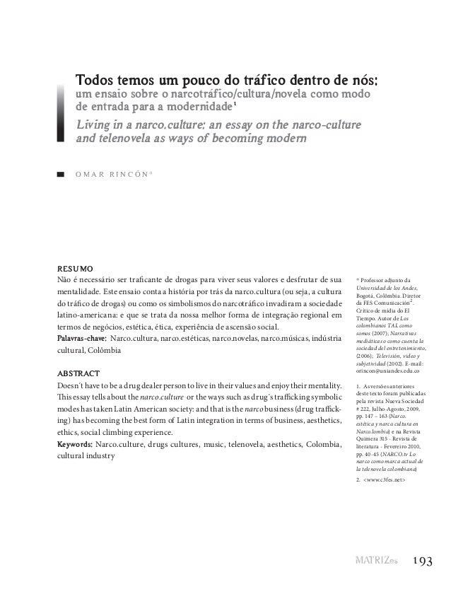 O M A R R I N C Ó N * * Professor adjunto da Universidad de los Andes, Bogotá, Colômbia. Diretor da FES Comunicación2 . Cr...