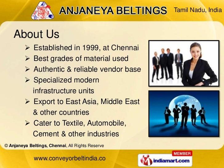 Conveyor Systems by Anjaneya Beltings Chennai Chennai Slide 2