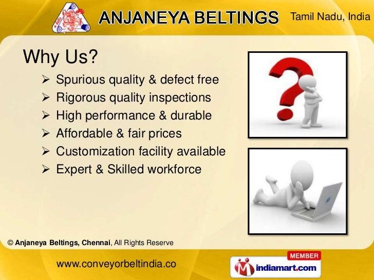 Conveyor Systems by Anjaneya Beltings Chennai Chennai Slide 3