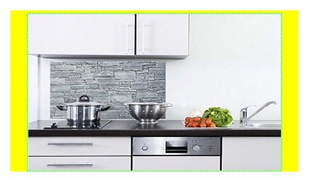 GRAZDesign 200070_80x60_SP Küchen-Spritzschutz aus Echtglas ...