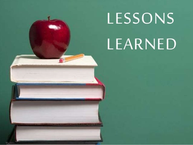 Image result for lessons to learn