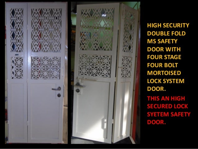3. HIGH SECURITY ... & 47 all detail high security ms door