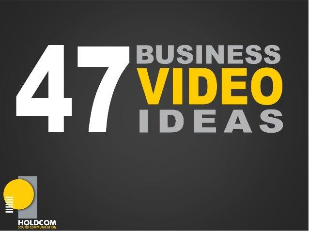 Interesting &engaging waysto kick start youronline videomarketingstrategy