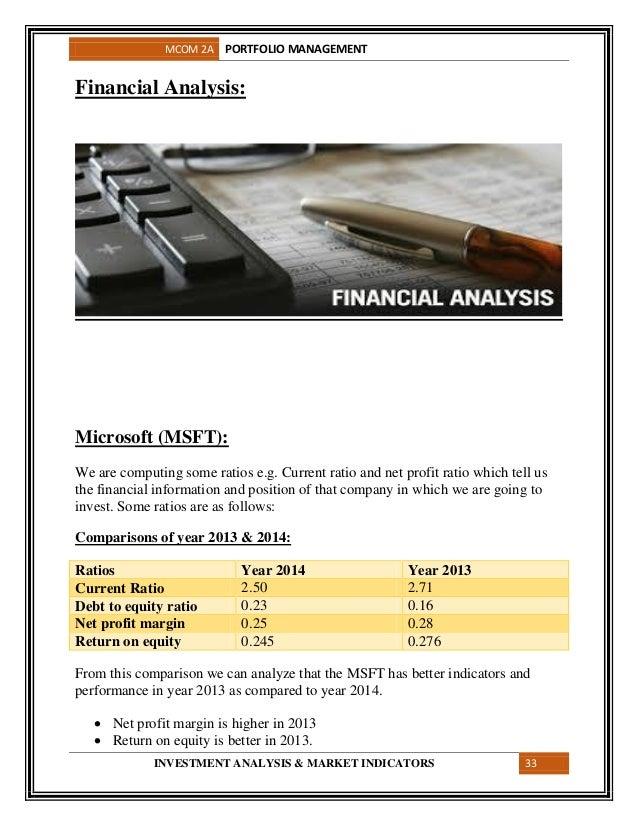 portfolio management project 5 10 11 9 mcom 2a