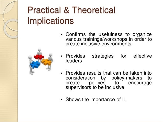 thesis theoretical implications Theoretical implications in our experience as asso- ciate editors, we have found  this aspect, which is both important and highly rewarding, often consti.