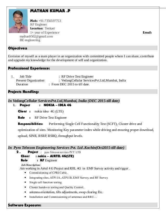 p mob 91 7356597753 rf engineer location tenkasi 1 - Rf Engineer Job Description