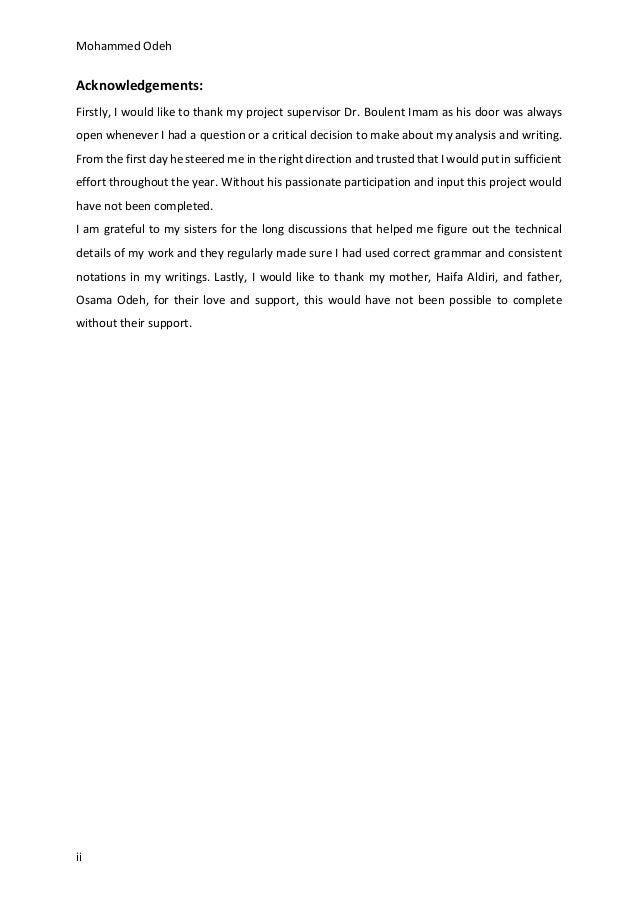 Dissertation Proposal Service Case Study