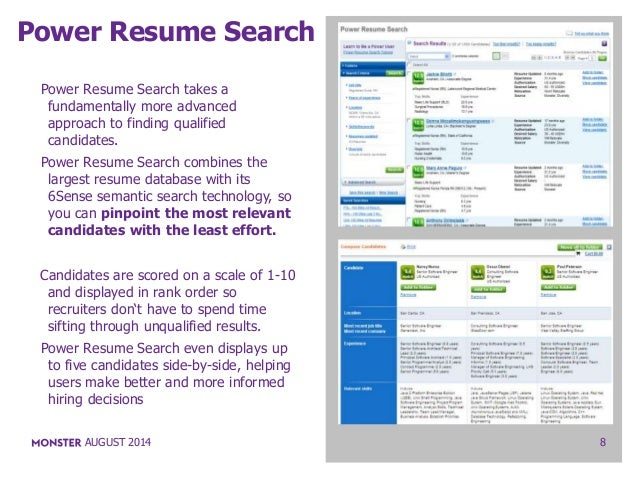 power resume search
