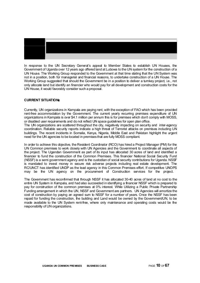 Uganda un common premises business case june 04 2015 10 section background introduction spiritdancerdesigns Image collections
