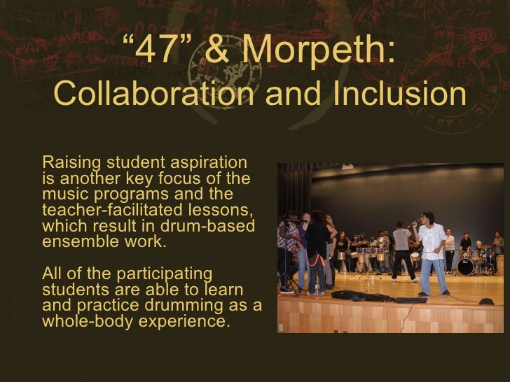 Collaborative Student Experience ~ Morpeth collaboration inclusion