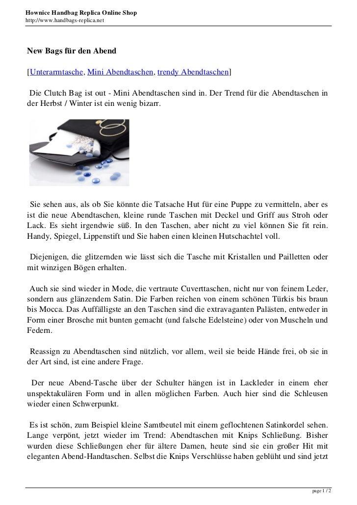 Hownice Handbag Replica Online Shophttp://www.handbags-replica.netNew Bags für den Abend[Unterarmtasche, Mini Abendtaschen...