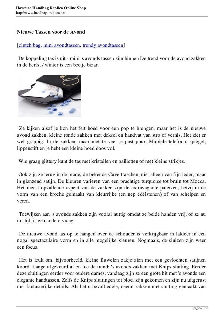 Hownice Handbag Replica Online Shophttp://www.handbags-replica.netNieuwe Tassen voor de Avond[clutch bag, mini avondtassen...