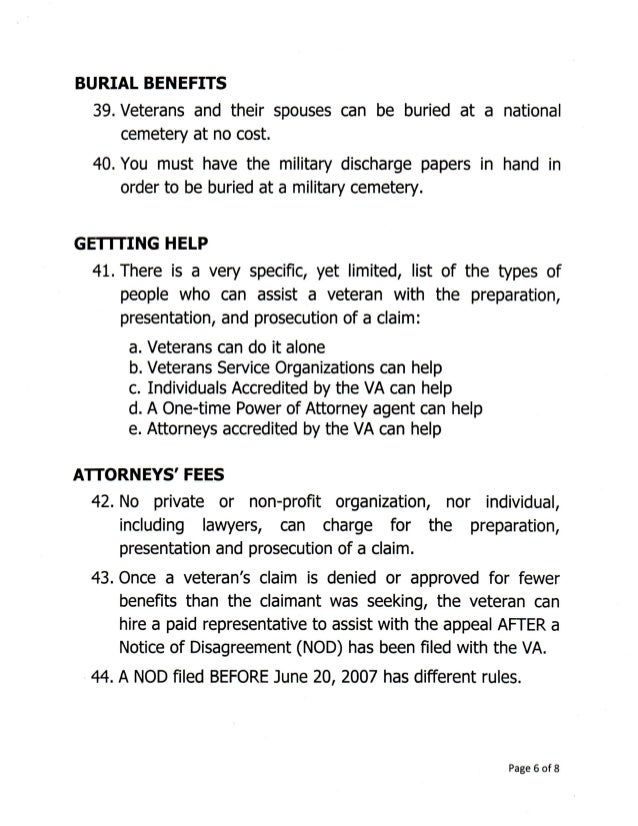 secret va benefits page 5 of 8 6