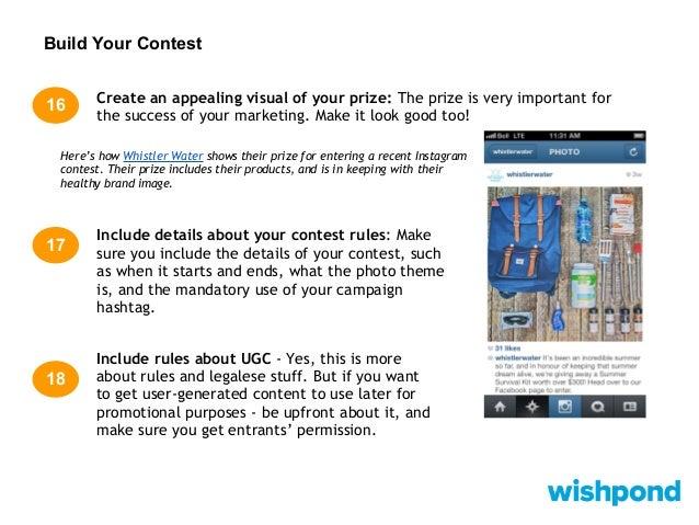 Instagram Detail: 47 Tips To Instagram Contest Success
