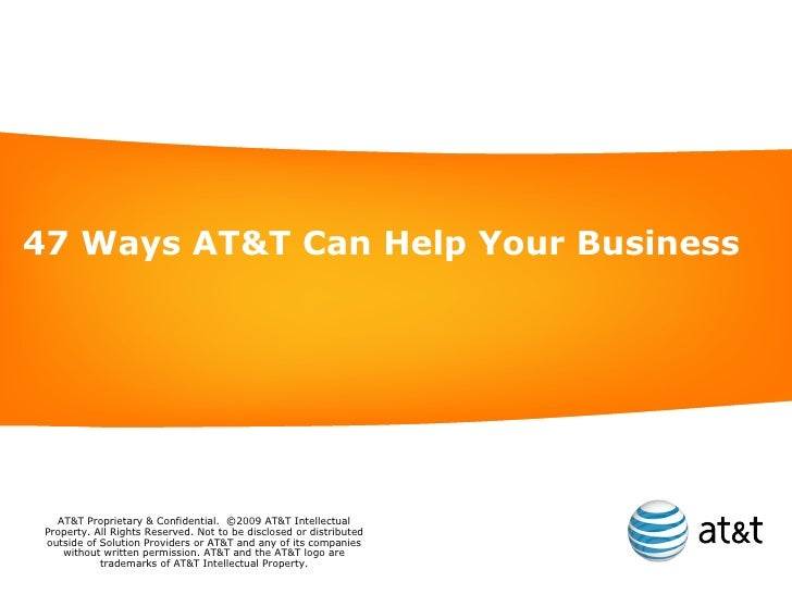 47 Ways AT&T Can Help Your Business