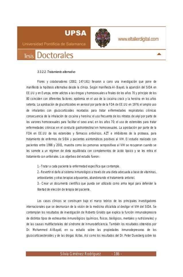 Silvia Giménez Rodríguez - 186 - 3.3.2.2. Tratamiento alternativo Flores y colaboradores (2002, 147-161) llevaron a cano u...
