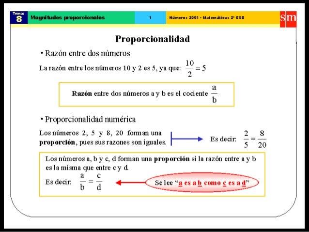 48. magnitudes proporcionales