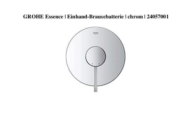 GROHE Essence | Einhand-Brausebatterie | chrom | 24057001