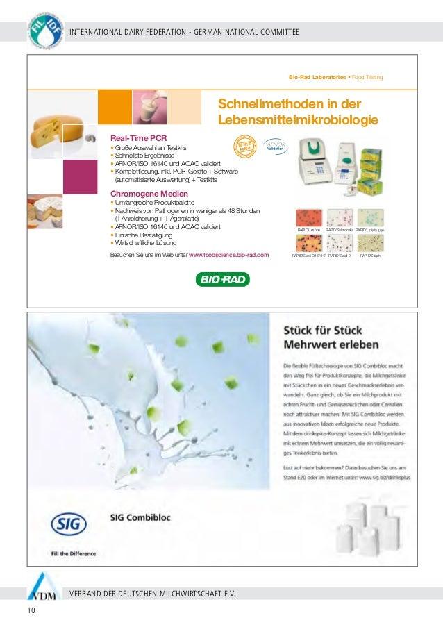 BERLIN 20 - 24 SEPTEMBER 2009 11 WWW.WDS2009.COM IDF WORLD DAIRY SUMMIT 2009 | MARITIM HOTEL BERLIN | ProgramMÜbersicht So...