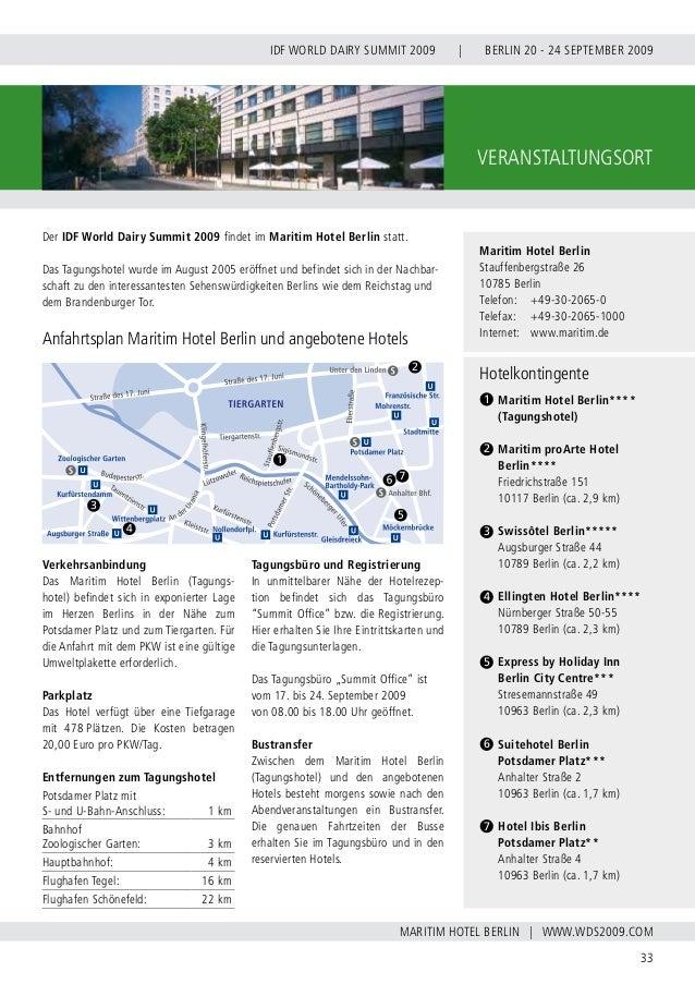 INTERNATIONAL DAIRY FEDERATION - GERMAN NATIONAL COMMITTEE 34 VERBAND DER DEUTSCHEN MILCHWIRTSCHAFT E.V. www.milchwirtscha...