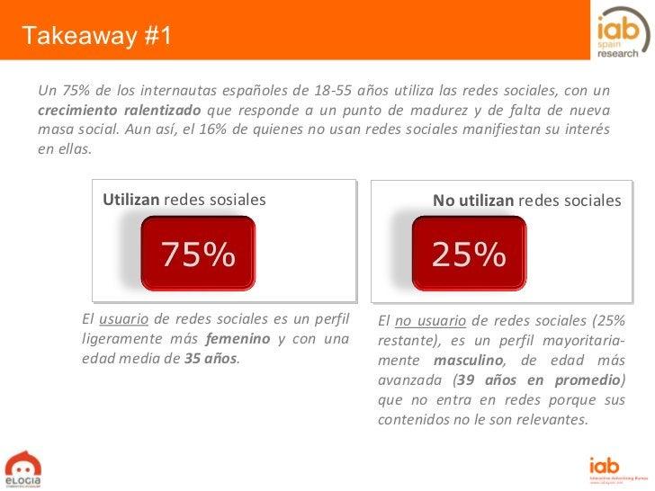 Un 75% de los internautas españoles de 18-55 años utiliza las redes sociales, con un  crecimiento ralentizado  que respond...
