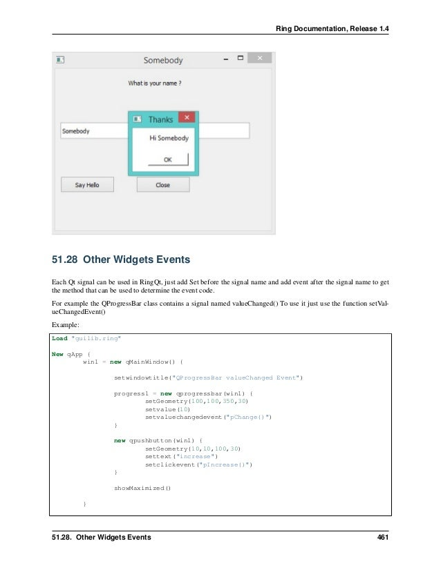 The Ring Programming Language Version 1 4 Book Part 17 Of 30
