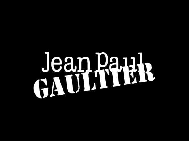 jean paul gaultiersemiotics amp communication