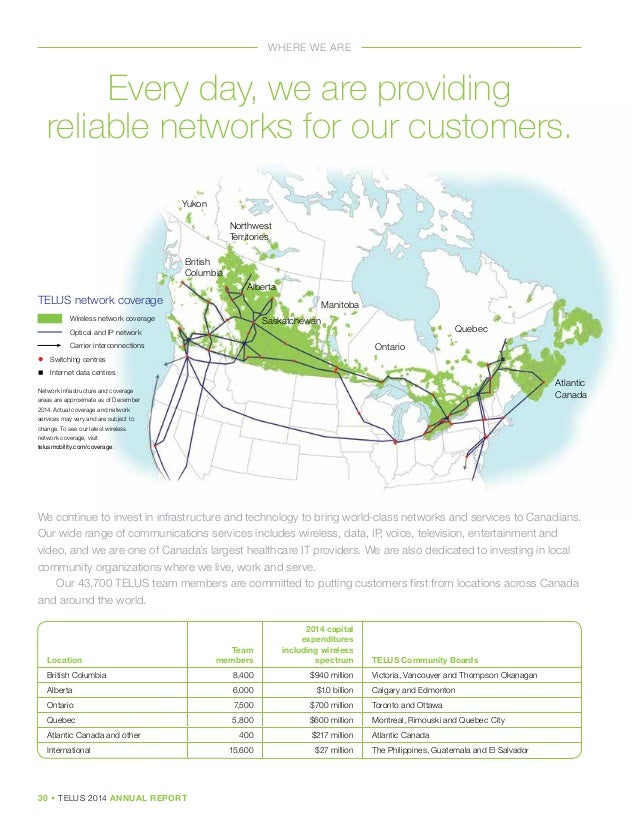 telus annual report analysis The statistic shows the annual operating revenues of the telus corporation from 2011 to 2017 in 2017, telus generated 133 billion canadian dollars in operating revenue.